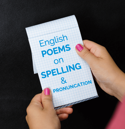 Listen to Poems on English Spelling & Pronunciation