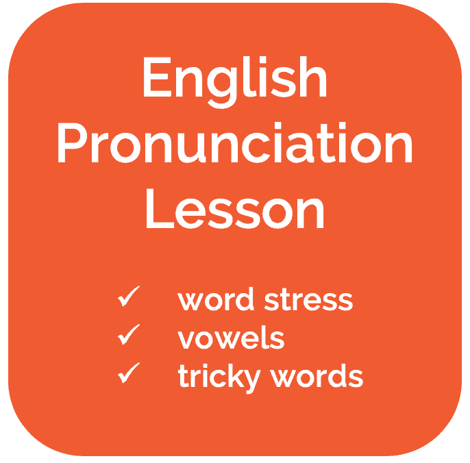 Free English Pronunciation Lesson